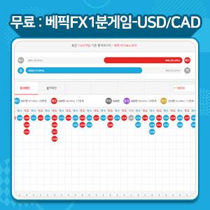 FX게임 USD/CAD 게임중계